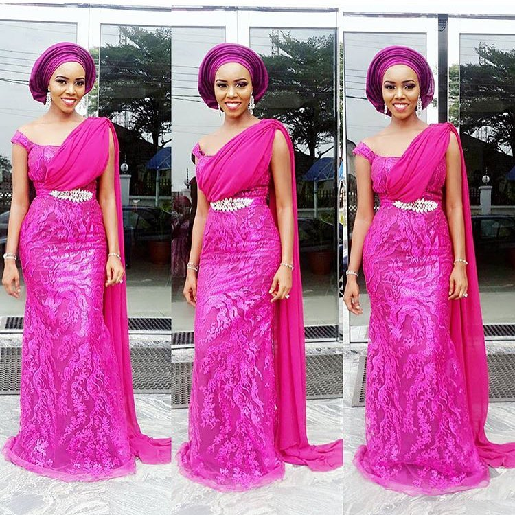 Step Out In Style In Lace Dresses For Your Next Owambe Party - The ...