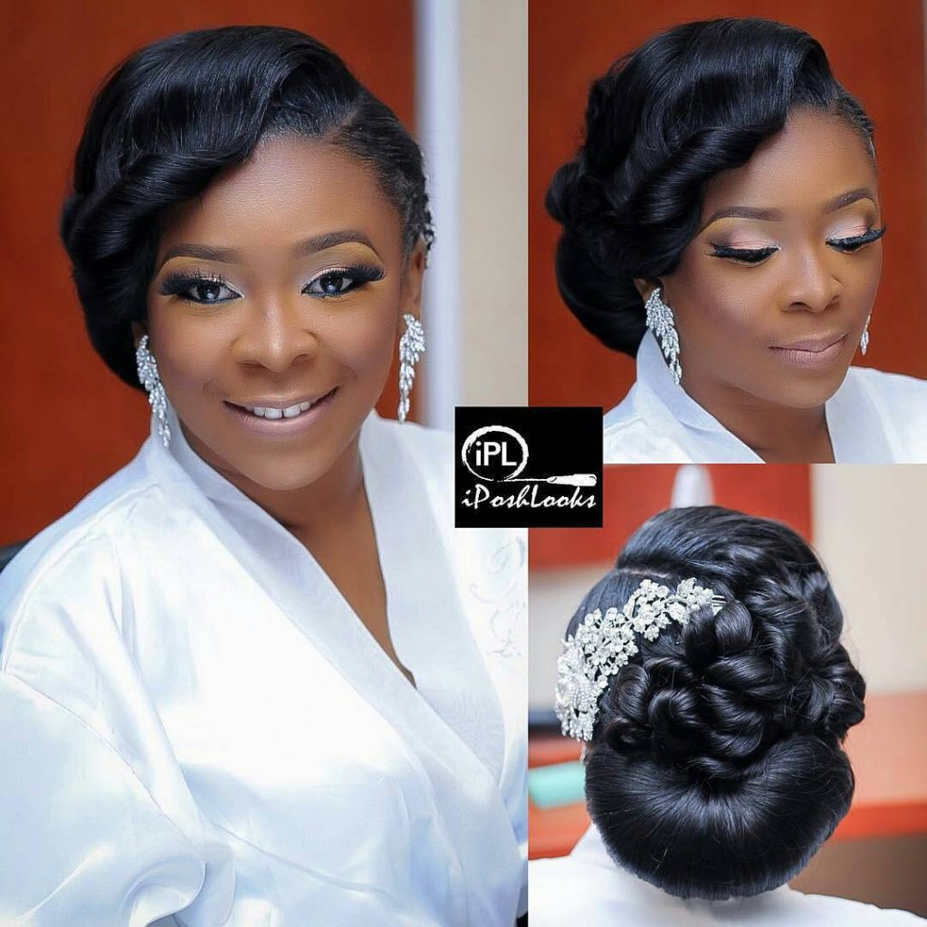 Bridal Hairstyle Ideas To Wow Them On Your Wedding Day The Lagos Stylist